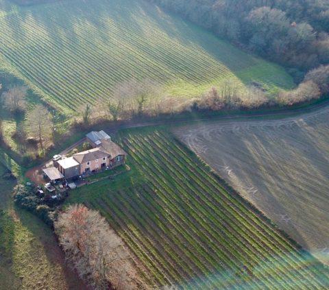 vue aérienne de Clos Boniveau